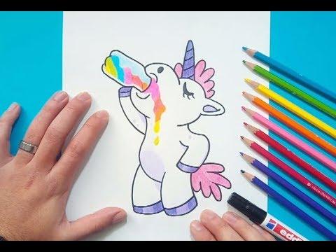 Como Dibujar Un Unicornio Paso A Paso 5 How To Draw A Unicorn 5
