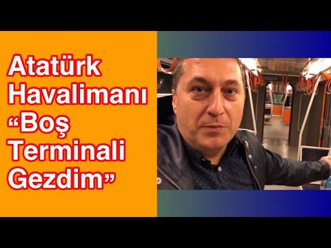 Boş Atatürk Havalimanı'na Girdim, Gezdim | Terminal Bomboş | Belgesel 15 | VLOG | Ertan Turhan