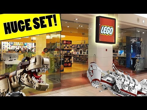 Went To The LEGO Store & Bought Something HUGE