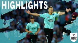 Finch and Roy power Surrey to victory! Highlights of T20 Blast v Somerset