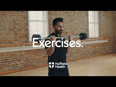Barbell Curl | Nuffield Health