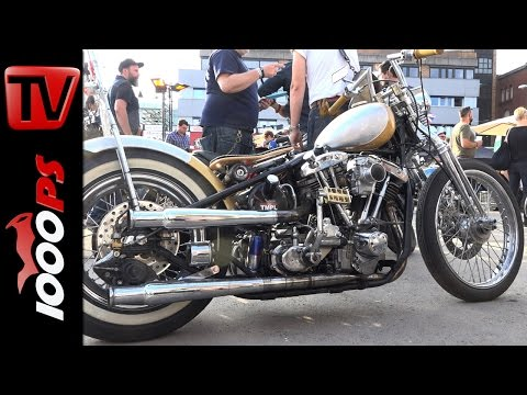 Harley Eigenbau Chopper | Pure & Crafted 2016