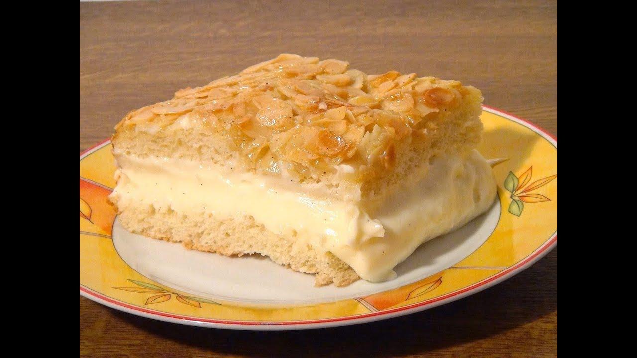 Omas Bienenstich Kuchen