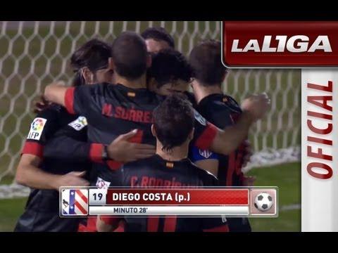 La Liga | Real Jaén - Atlético de Madrid (0-3) | 31-10-2012 | 1/16 ida | Resumen