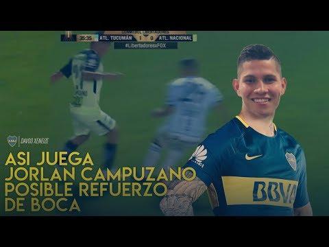 ¿Cómo juega Jorman Campuzano? Nuevo refuerzo de Boca (2019)