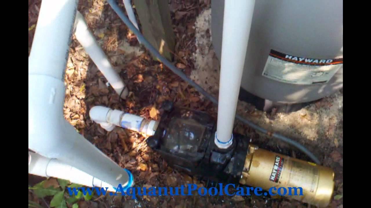 Hayward Filter Installation S220t