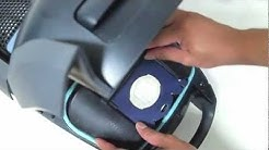How to install S-bag into Philips Vacuum Cleaner HD