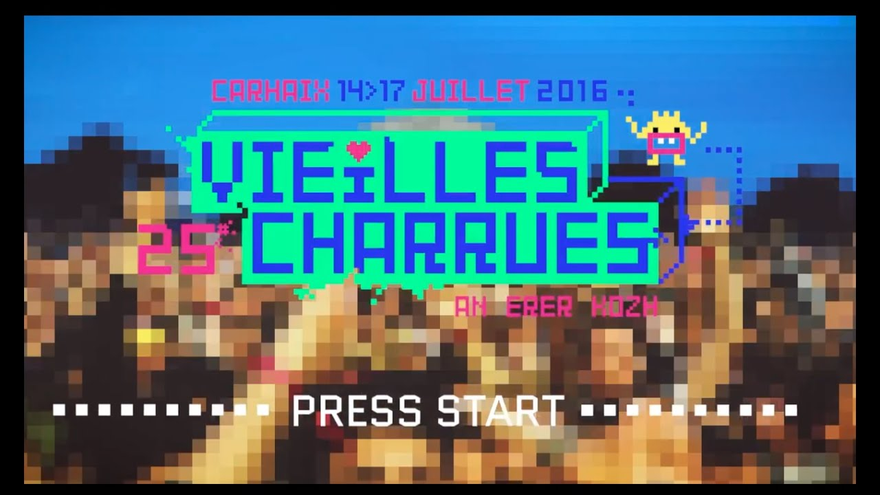 Les Vieilles Charrues 2016 vu par I Live U !