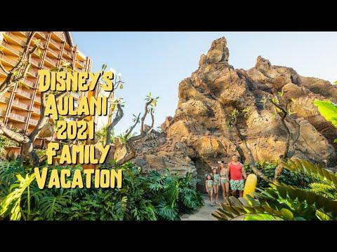 Disney Aulani 2021 Hawaii Family Vlog + Ocean View Villa Tour + Luau + Kid Activities