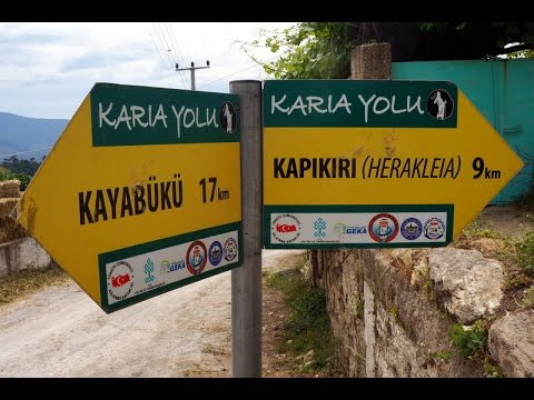 TURKEY: Hiking The Сarian Trail