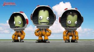 Kerbal Space Program - Спасаем космонавта! Спешу на помощь! Новый комп! стрим в  2k