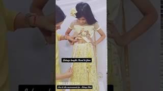 How To Take Lehenga Choli Measurements for Baby Girl | Custom Kids Lehenga Choli Measurement
