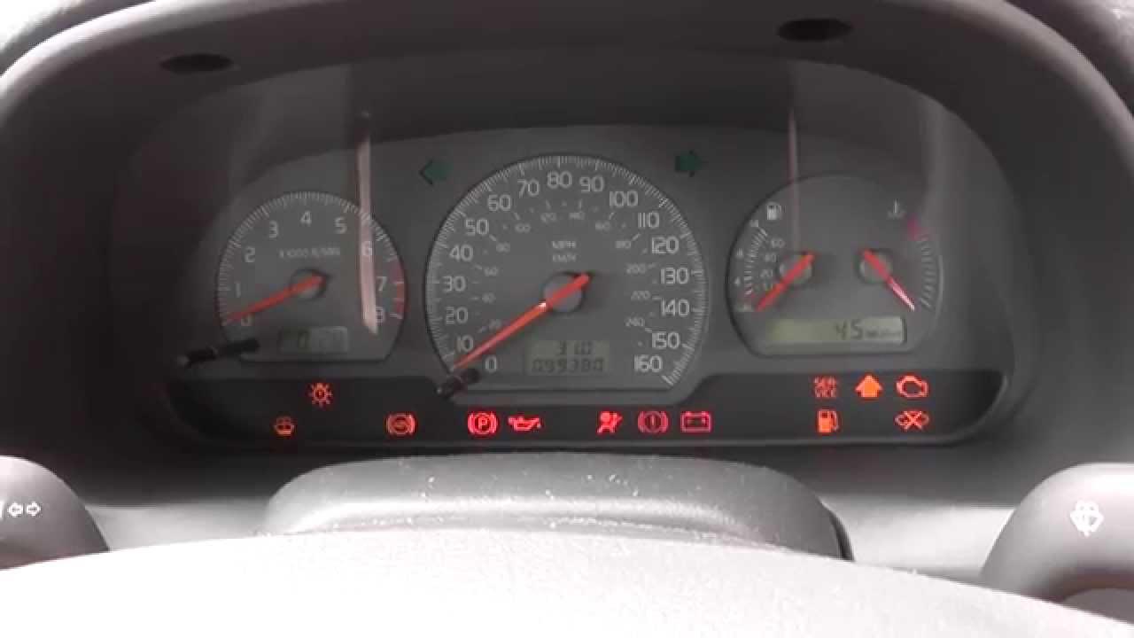 volvo s40 dash warning lights engine start [ 1280 x 720 Pixel ]