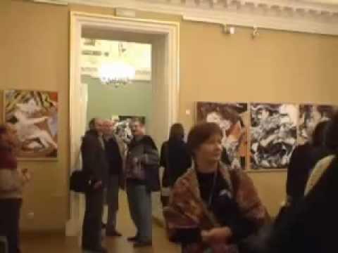 אילנה רביב - תערוכת יחיד במוזיאון הלאומי סנט פטרסבורג.