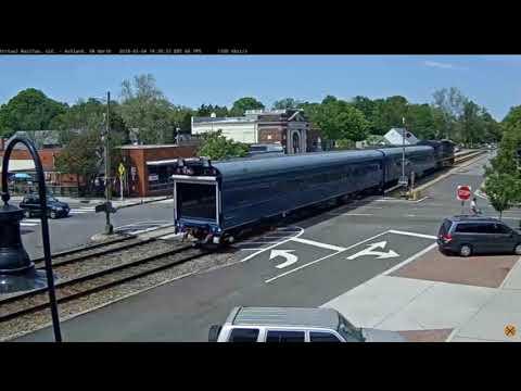 Geometry Train Stops in Ashland