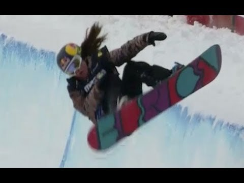Arielle Gold becomes Snowboard champion - Universal Sports