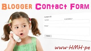 Blogger Contact Form Kaise Add kare Blog me Full Video Tutorial in Hindi
