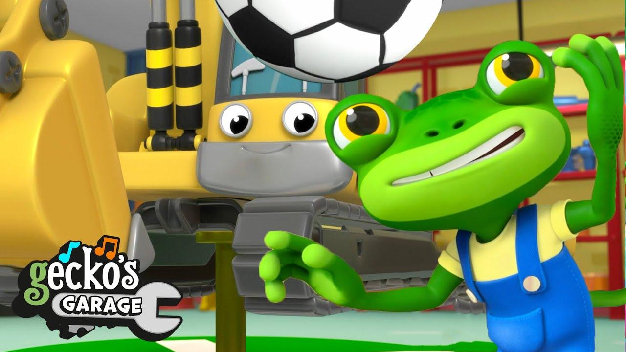 Eric the Excavator's Service | Gecko's Garage | Trucks For Children |Cartoons For Kids | Compilation
