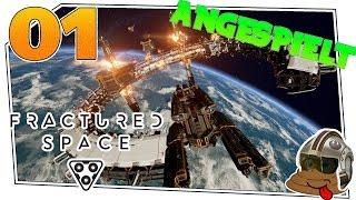 Fractured Space #01 - Angespielt - mehr??   Lets Play Fractured Space deutsch german