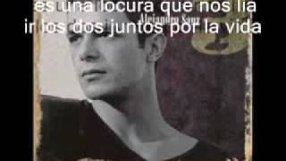 alejandro sanz - eres mia ( video y letra).avi