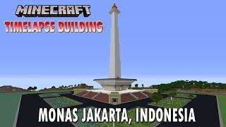 Monas di Minecraft (Timelapse Building)