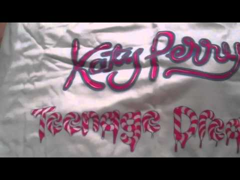 Katy Perry Teenage Dream Album- Cotton Candy!!