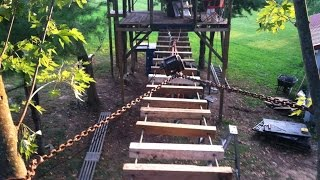 Building My Children A Tree House Part 5