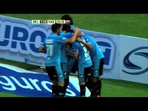 Belgrano goleó a Sarmiento y se reencontró con el triunfo