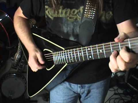 1984 Takamine EA360 Acoustic Electric Guitar Review By Scott Grove Flying A Or V