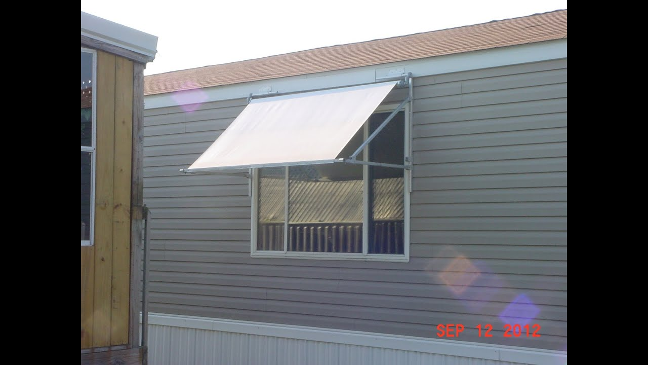 Exterior Window Awnings Diy Diy Door Awnings Awning Kit