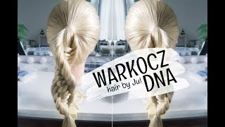 Warkocz DNA - hair by Jul