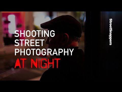 Shooting street photography at night