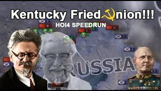 Colonel Sanders RESTORES The Union to true MARXlSM!!! (HOI4 SPEEDRUN)