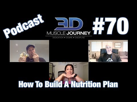 3DMJ Podcast #70: How to Build a Nutrition Plan
