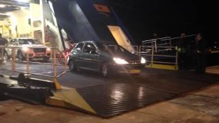aankomst op Paros vanaf de Blue Star Paros ferry vanuit Piraeus.