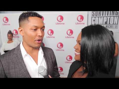 Curtis Hamilton Talk His Role as Dr. Dre in Lifetime Biopic Surviving Compton