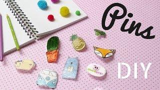 DIY Pins / Insigne / Brose cu pistolul de lipit #simplu | Owlipop
