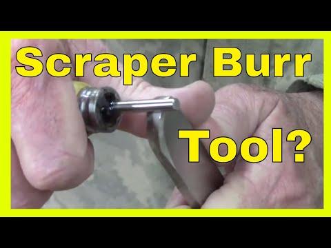 DIY Burnisher Tool for Scrapers