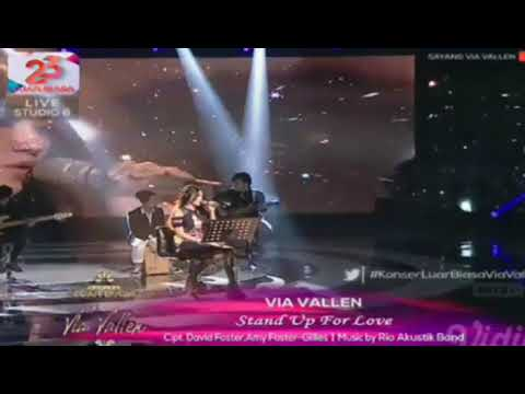 Stand Up For Love - Via Vallen || Konser Luar Biasa Via Vallen Indosiar 2018