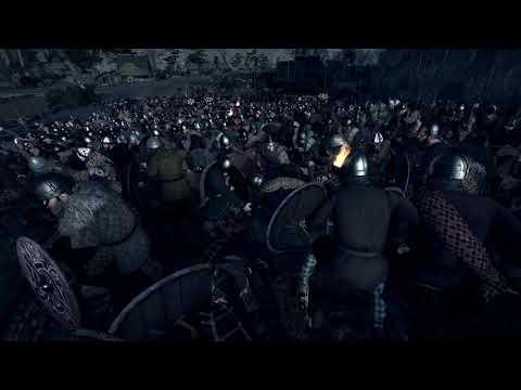 Total War Saga Thrones of Britannia Nightime Combat |