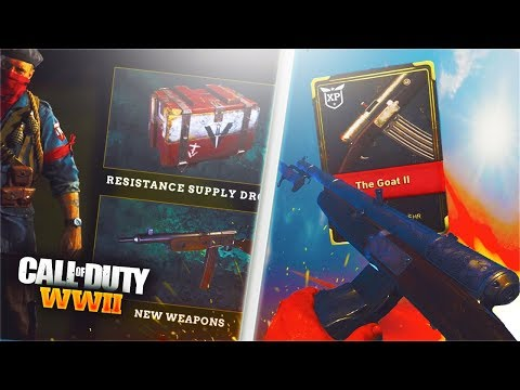 WW2 New Resistance Event!! Unlocking FREE DLC Weapons in Call of Duty WW2!! WW2 New Resistance DLC!!