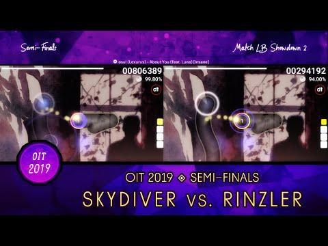 Osu! Indonesia Tournament 2019 | SF (Lower Bracket) | Highlights : Skydiver Vs Rinzler