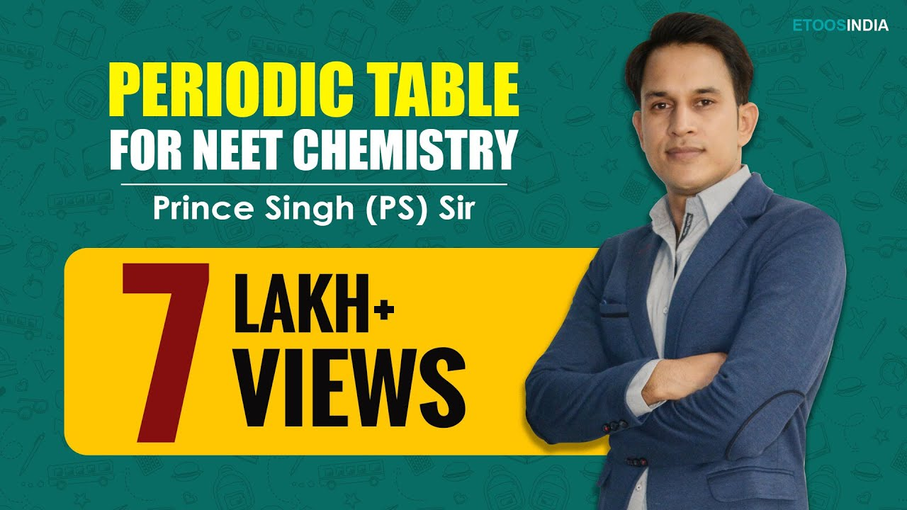 Neet i chemistry i periodic table i prince singh ps sir from youtube premium urtaz Gallery