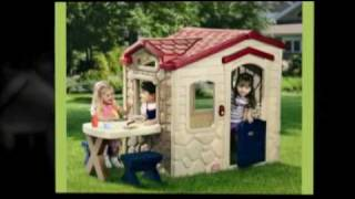Children's Backyard Playhouses