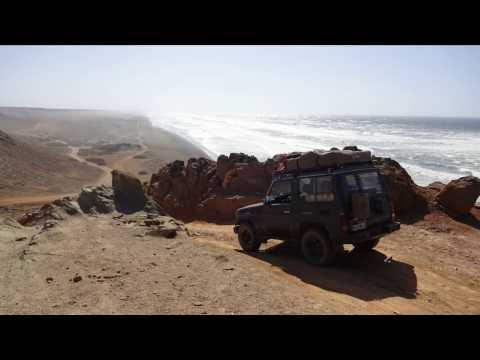Marokko / Morocco 2016 Roadtrip Dashcam