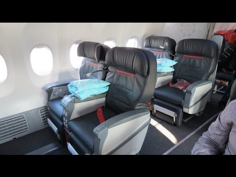Turkish Airlines Airbus A321-200 NEW Business Class Review