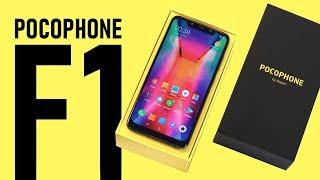 Распаковка Pocophone F1 и сравнение с Xiaomi Mi 8 (тест камеры)