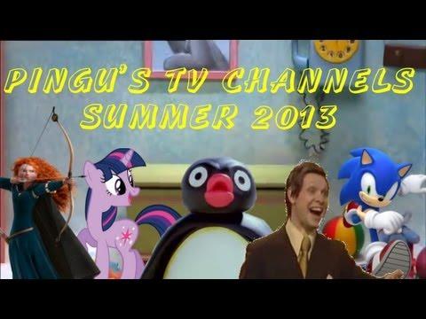 LordofDisasters1: Pingu's TV Channels Summer 2013