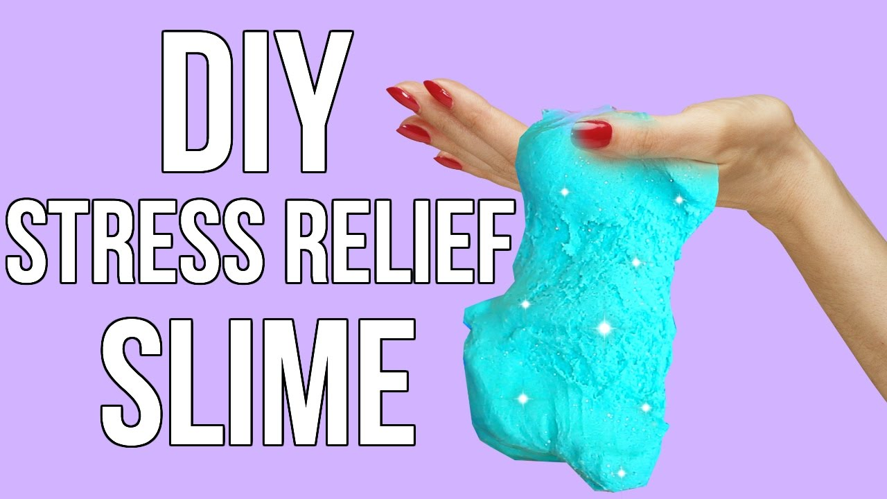 DIY Stress Relief Slime! Slime Without Glue, Borax or Liquid Starch - YouTube