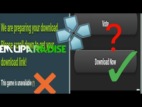 How To Download Games On PPSSPP||if Emuparadise Is Not Working